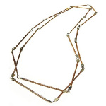 "Art da Terra Designer Hand-Crafted 46"" Link Necklace"