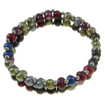 Elegant Retro Style Mixed Color FW Pearl Stretch Bracelet