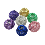 Mixed Mesh Metal Ball European Bracelet Beads