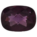Garnet - 8x6mm Cushion Cut Loose Gemstone