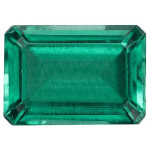 Emerald - 6x4mm Emerald Cut Loose Lab-Created Gemstone