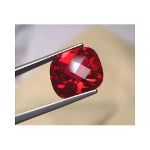 Ruby - 8mm Cushion Cut Loose Lab-Created Gemstone