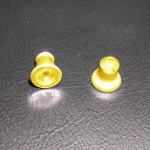 Gold Tone Solid Brass Earring Backs