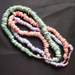 Mixed Dyed Genuine Shell Beaded Necklaces