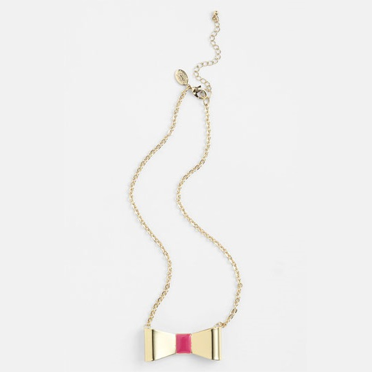 Nordstrom Closeout Mixed Enameled Bow Necklaces