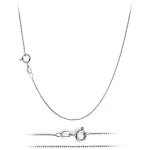 "Sterling Silver Chain - Box 20"" 1.4mm"