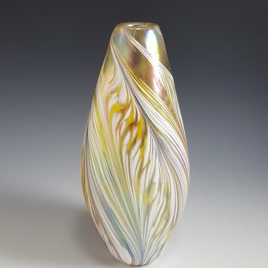 Petal Vase in Yellow