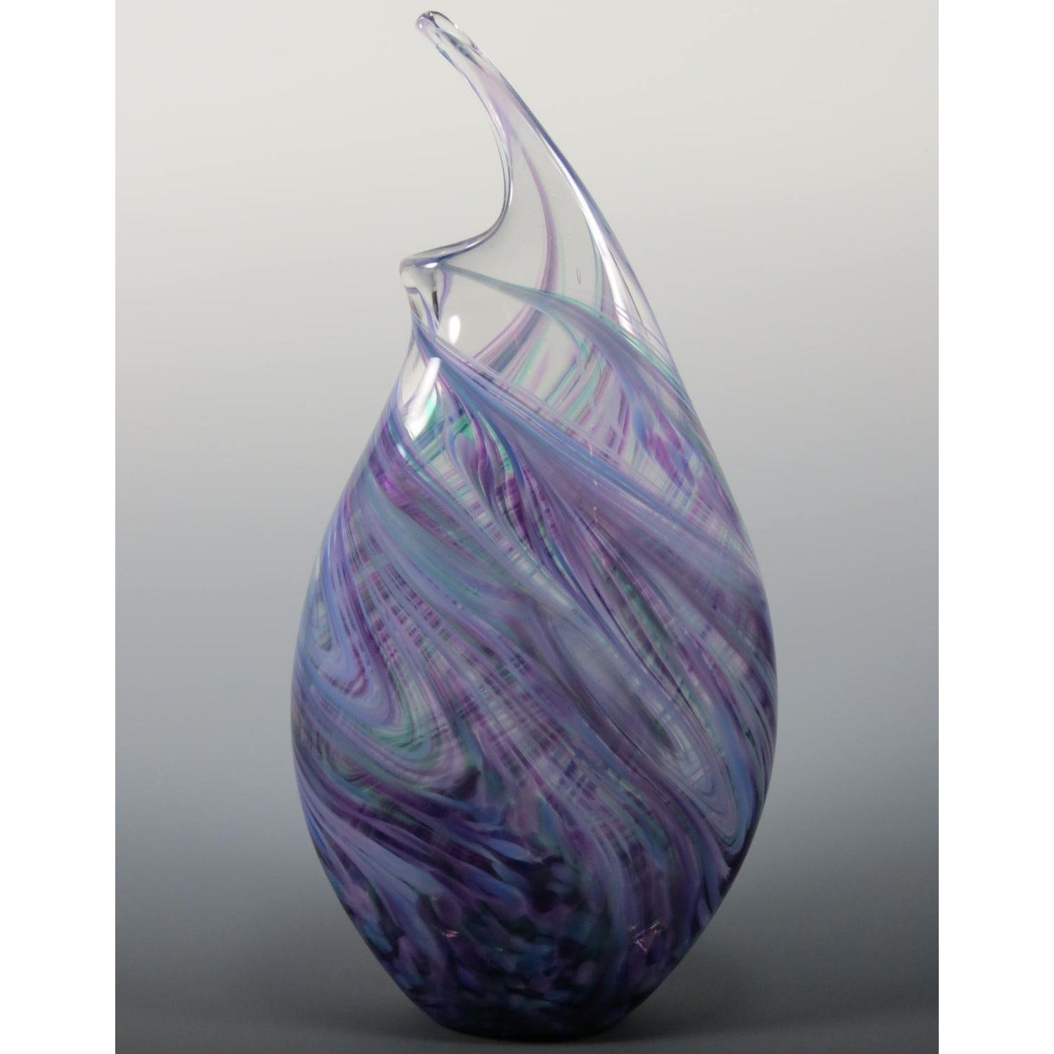 Wave Vase in Cool Mix