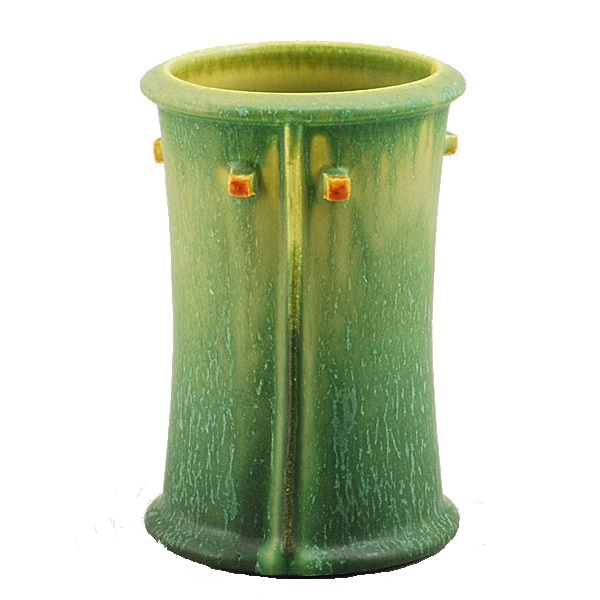 Prairie Cabinet Vase in Northern Lights Green